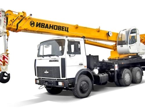 Автокран МАЗ КС-5576Б