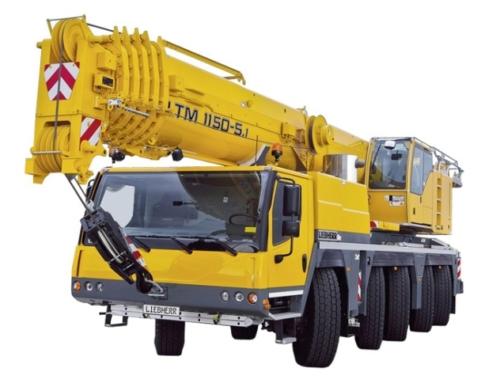 Автокран Кран Liebherr LTM 1150-5.1